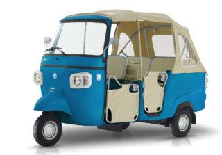 2ストロークに天然ガス、メタン仕様まで…70周年記念モデルを発売したピアッジオ「APE」がお達者すぎ!