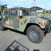 必要不可欠なものだけが誇れる美しさ「軍用車ハンビー」