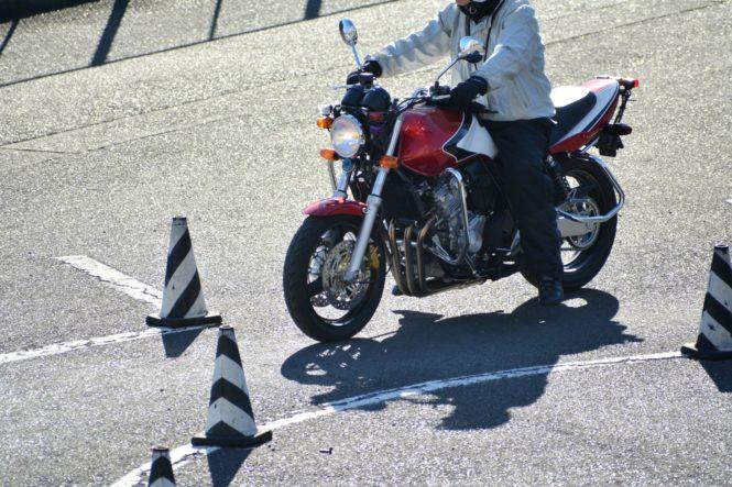 バイクの教習