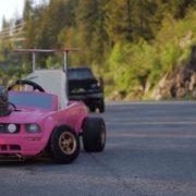 バービーカーが本格派アメリカンマッスルカーに変身!?魔改造バービーカーがブッ飛んでる!