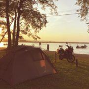 究極の癒しを得る!キャンプツーリングでテントを張り終えたらやるべき事とは?