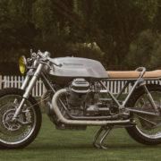 コレがグッツィのツアラー!? Untitled Motorcyclesが制作したカフェレーサーが上品すぎる!