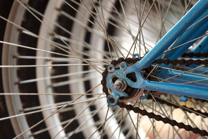 自転車のパーツ