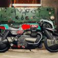 【芸術×バイク】イタリアのビルダーが作ったカスタムバイクが想像を絶していた!