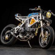 DUCATIバイクをキャンバスにしたアート!? 芸術的過ぎるカスタムバイク