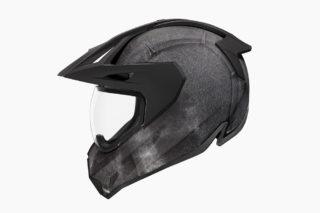 ICONからのクールな新作ヘルメット!繊維系素材で超軽量化!?