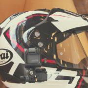 ツーリング動画を撮りたい!ヘルメット用マウント4選