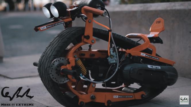 カタツムリバイク