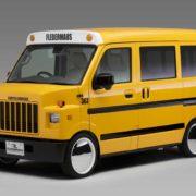 なにコレ可愛い!車中泊もできるスクールバスが絶賛発売中なのだ!