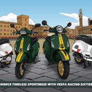 マンガにゲームも公開予定!ベスパ「Racing Sixties」シリーズ発売