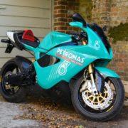 わずか1/60。希少なスーパーバイクレースマシンがオークションに!