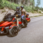 AT限定自動車免許で乗れてツーリングも捗る3輪バイクBRP「新型Can-Am Spyder RT」発売