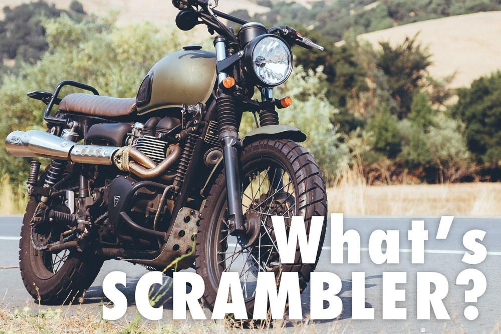スクランブラーって何?スクランブルエッグ的な…違います! | バイクを ...