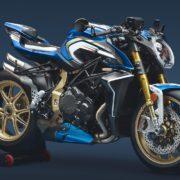 【速報】世界に1台!MVアグスタが「Brutale 1000 RR Blue & White M.L.」を公開したぞ!