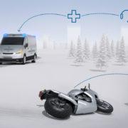 スマホアプリを介して自動で119番!ボッシュが事故を自動検知して緊急通報するシステムを開発