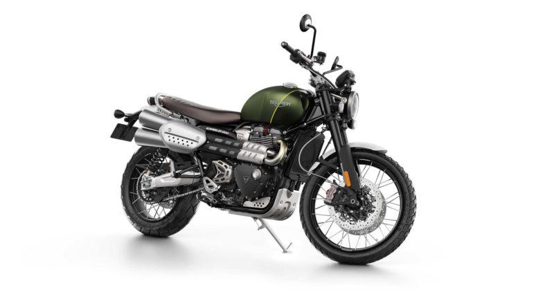 トライアンフ「スクランブラー1200(XE)」