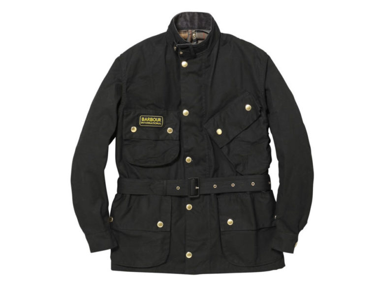 Barbour INTERNATIONAL SL WAXED COTTON