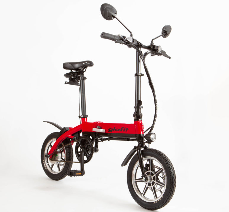 グラフィット「GFR-01」自転車モード バイクモード切り替え