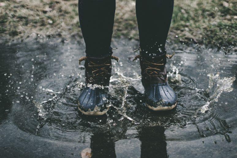 雨天走行 ブーツ