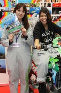 2015東京モーターサイクルショーレースクーン35