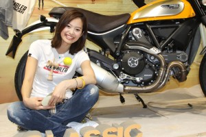 2015東京モーターサイクルショーレースクーン40